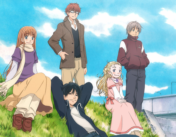 Honey and Clover, c'est mieux en anime.